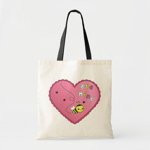 Bee Mine Canvas Bags