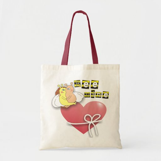 Bee Mine Cute Bees in Love Bags