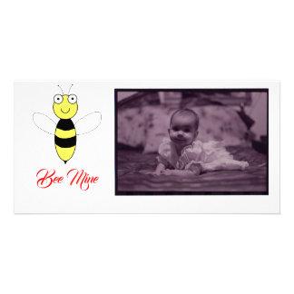 """Bee MIne!"" Photo Card"