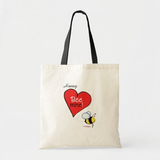 Bee Mine Valentine Bag