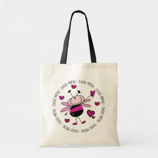 Bee Mine Valentine Canvas Bag