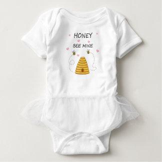 Bee mine Valentines day Baby Bodysuit