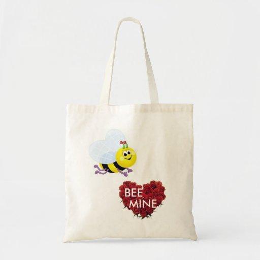 BEE MINE Valentines Day Bag