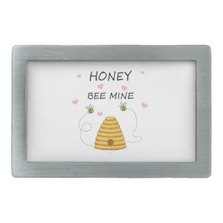 Bee mine Valentines day Belt Buckle