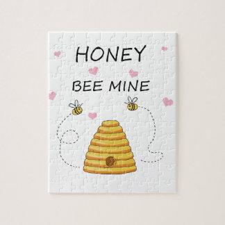 Bee mine Valentines day Jigsaw Puzzle