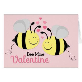 Bee Mine Valentine's Day Note Card