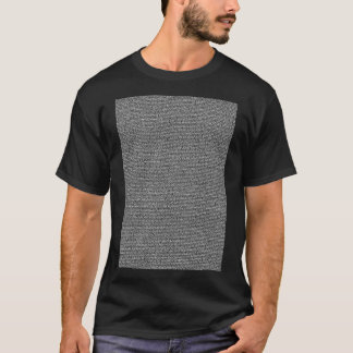 Bee Movie Script Body Text Dark T-Shirt