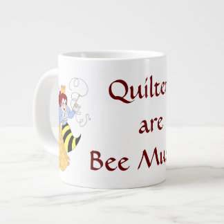 Bee Mused JumboMugs Large Coffee Mug