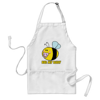 bee my baby cute baby bumble bee standard apron