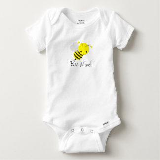 Bee My Valentine Baby Boy or Girl Bumblebee Baby Onesie