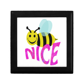 bee nice small square gift box