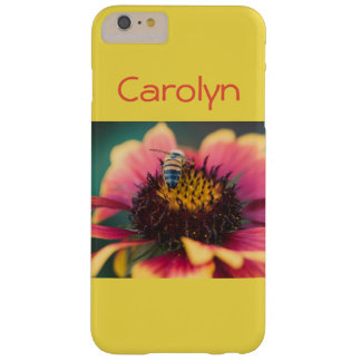 Bee on a flower barely there iPhone 6 plus case