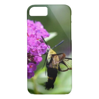 Bee on a flower. iPhone 8/7 case
