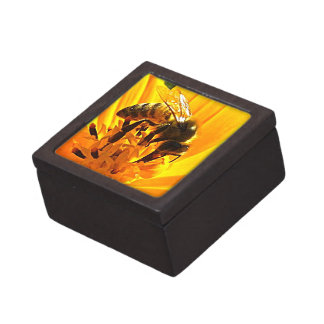 Bee on a Flower Premium Keepsake Box