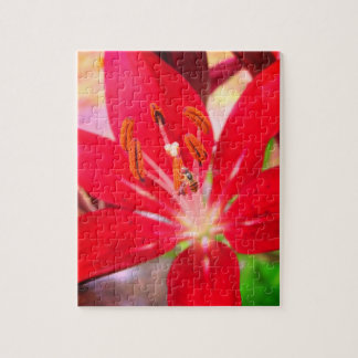 Bee on a Lily Relaxing Self-Care Jigsaw Puzzle