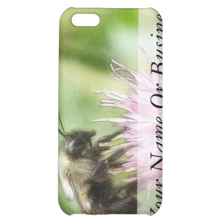 Bee On Bachelor Button Cover For iPhone 5C