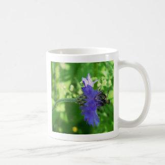 Bee on Button Flower Coffee Mug