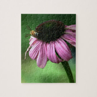 Bee on Flower Jigsaw Puzzle