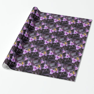 Bee on Flower Wrapping Paper