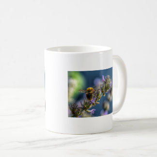 Bee on Lavender Coffee Mug
