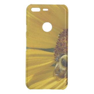 Bee on Sunflower Uncommon Google Pixel Case