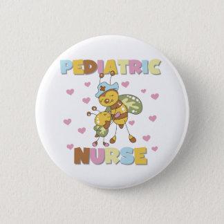 Bee Paediatrics Nurse 6 Cm Round Badge