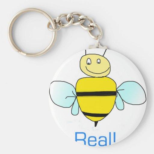 Bee-real Keychain