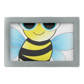 bee rectangular belt buckles