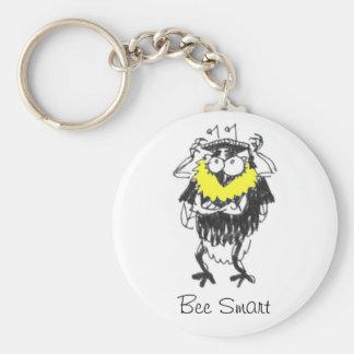 Bee Smart Keychain