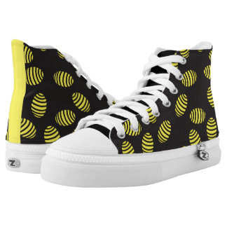 Bee Sneakers - Fancy Black And Yellow