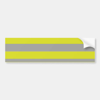 BEE stripes to clear Bumper Sticker