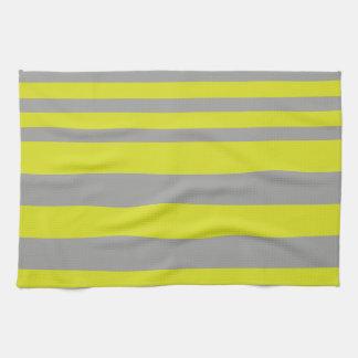 BEE stripes to clear Tea Towel