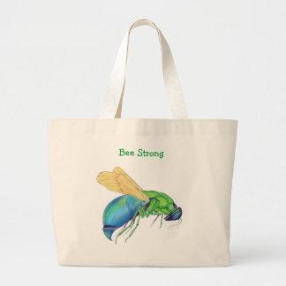 Bee Strong Jumbo Tote Bag