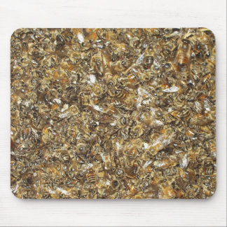 Bee swarm mouse pad