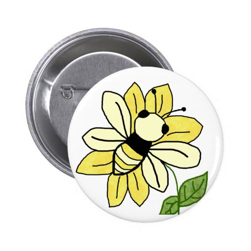 Bee the Flower button