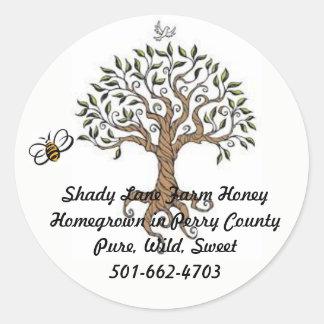 Bee Tree Honey Label