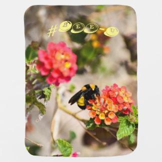 #Bee-U baby blanket