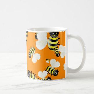 Bee Wallpaper Coffee Mug