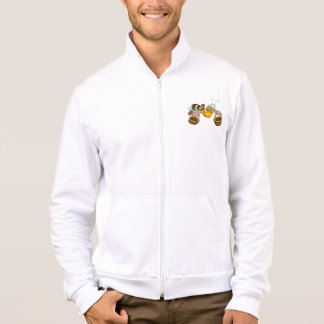 Bee With Buckets Mens Jacket