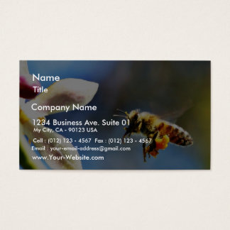 Bee With My Myer Lemon Tree Business Card