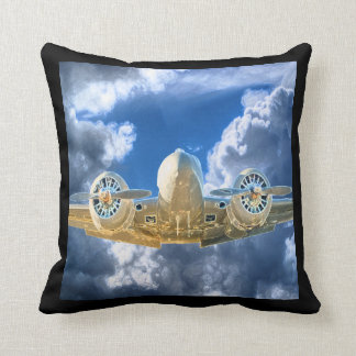 Beech 18 Flying High Design Cushion
