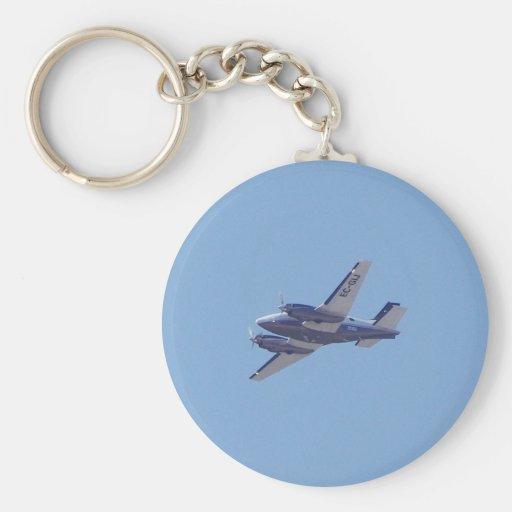 Beech B90 King Air Keychain