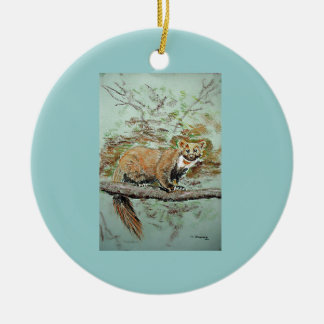 Beech Marten Ornament