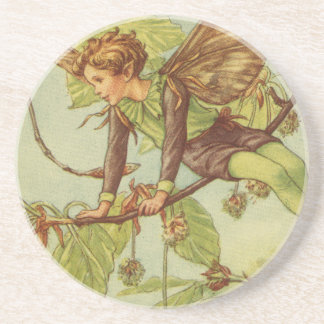 Beech Tree Fairy by Vision Studio Drink Coaster