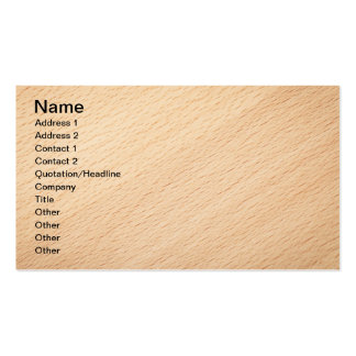 Beech Wood Texture For Background 2 Pack Of Standard Business Cards