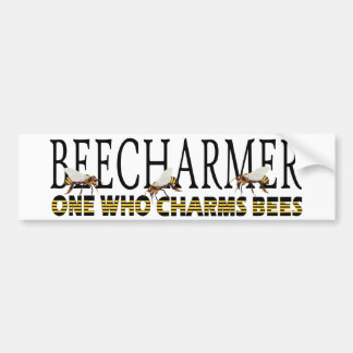 BEECHARMER bumper sticker