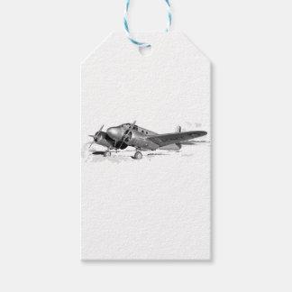 Beechcraft_AT-10_Wichita_on_the_ground_c1942 Gift Tags
