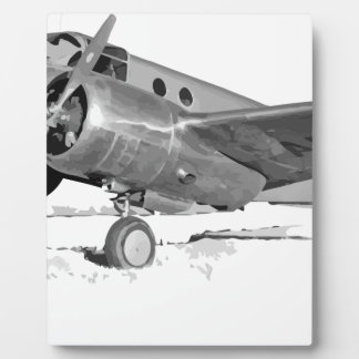 Beechcraft_AT-10_Wichita_on_the_ground_c1942 Plaque