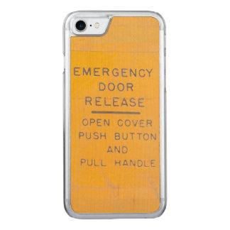 Beechcraft Model 18 Emergency Door Release Design Carved iPhone 7 Case
