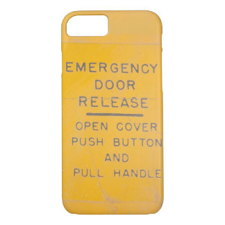 Beechcraft Model 18 Emergency Door Release Design iPhone 8/7 Case